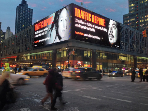 Super Bowl Ad Campaign Targets HumanTrafficking